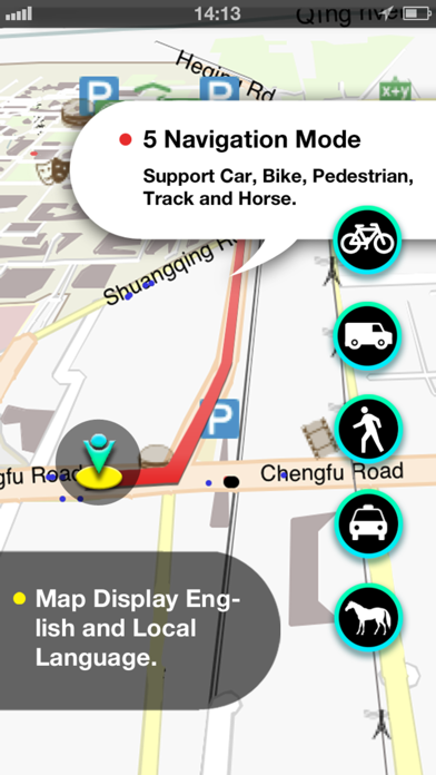 Melbourne Map screenshot two