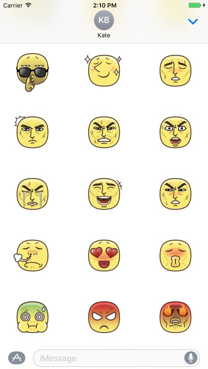Emotion Stickers screenshot-2