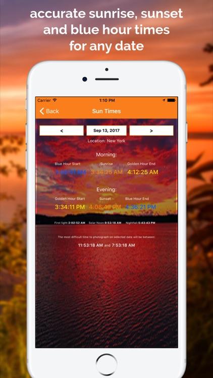 SkyCandy - Sunset Forecast App screenshot-3