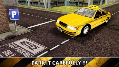 City Taxi Driver Sim 2016 - Yellow Cab Parking Maina in Las