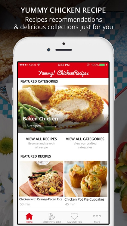 Yum! Healthy Chicken Recipes - Cook & Learn Guide