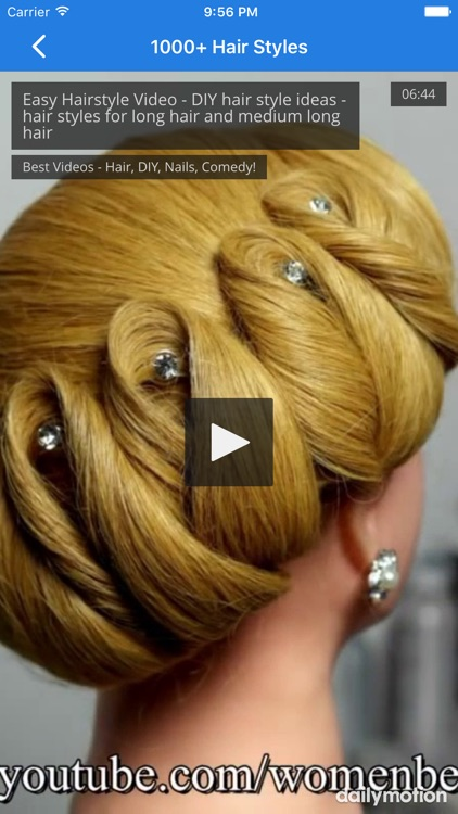 1000+ Hair Styles For Girls screenshot-4