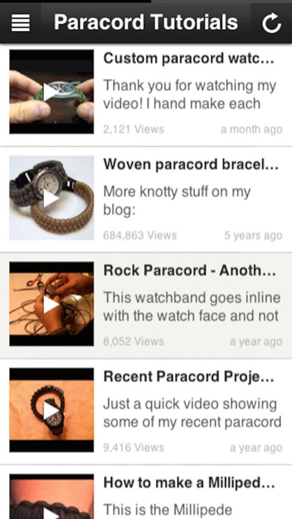 Paracord Styling: Survival Bracelets & Watch Band