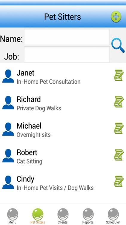 Pet Sitting Software by Aleksey Tselinko