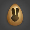 Easter Day Golden Egg Stickers