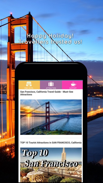 San Francisco Hotel Booking Search