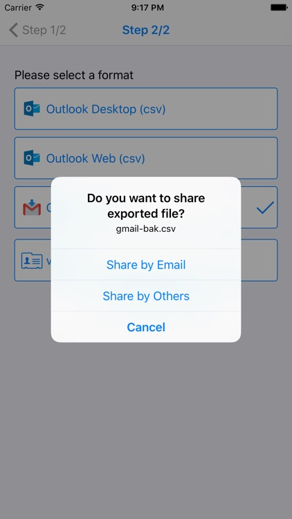 Contacts Backup , Restore , Merge and More screenshot-3