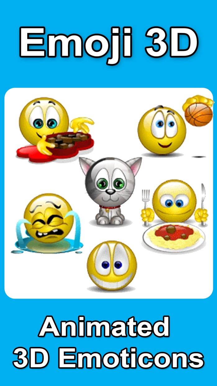 Animated 3D Emoji Emoticons Screenshot
