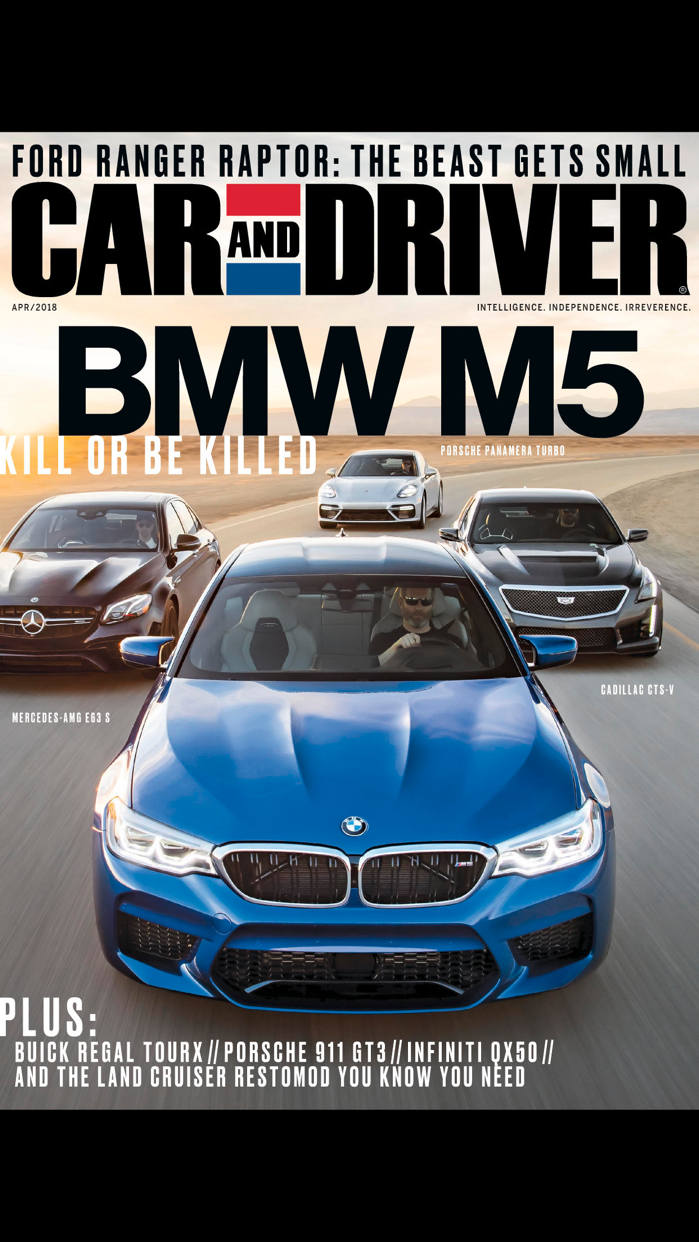 Car and Driver Magazine US Screenshot