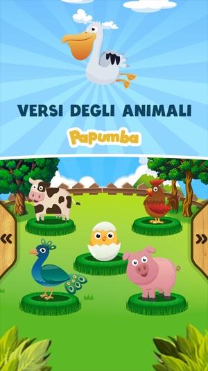 Papumba versi degli animali su app store