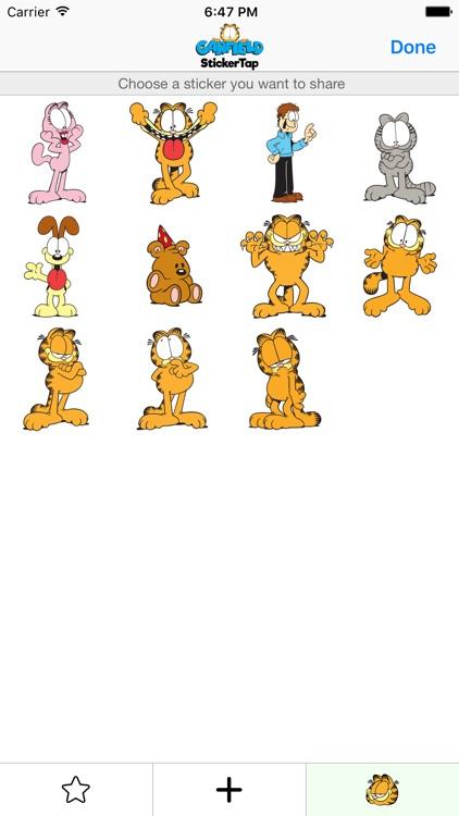 Garfield - StickerTap