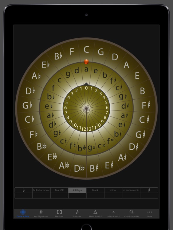Circle of 5ths Virtuoso HD screenshot-0