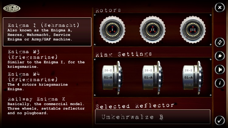 Mininigma: Enigma Machine Simulator
