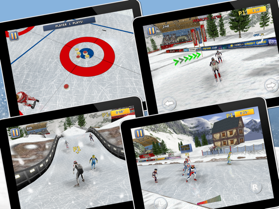 Athletics 2: Winter Sports screenshot 6