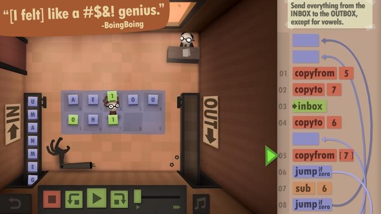 Human Resource Machine screenshot-3