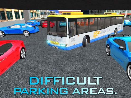 サッカースタジアムの駐車場 - 大都市におけるメガ車の運転免許試験シミュレータのおすすめ画像1