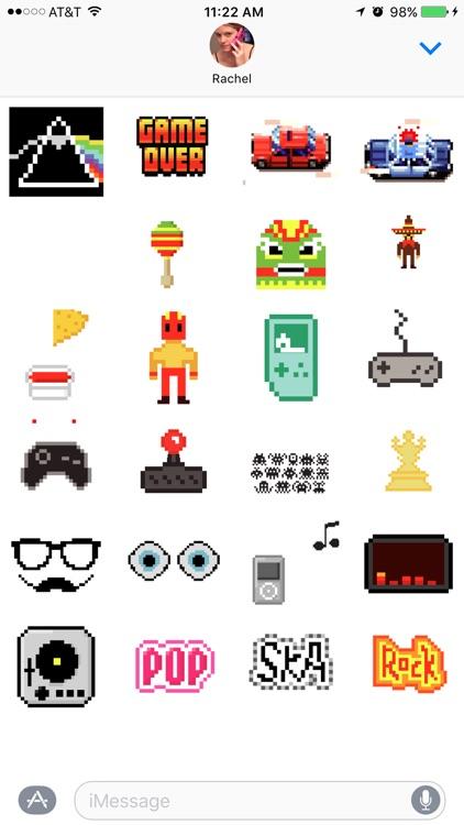 8 Bit Stickers