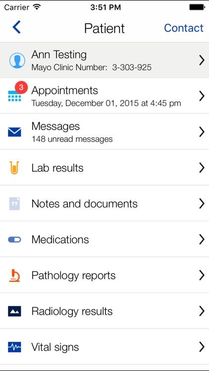 Mayo Clinic screenshot-3