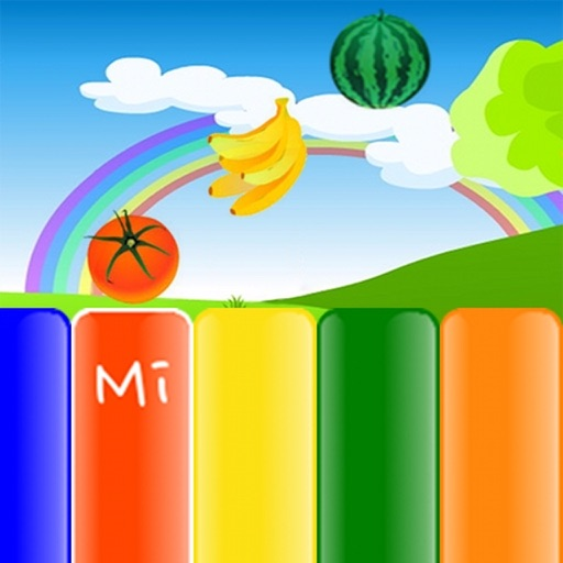 Kids Fruit Piano HD