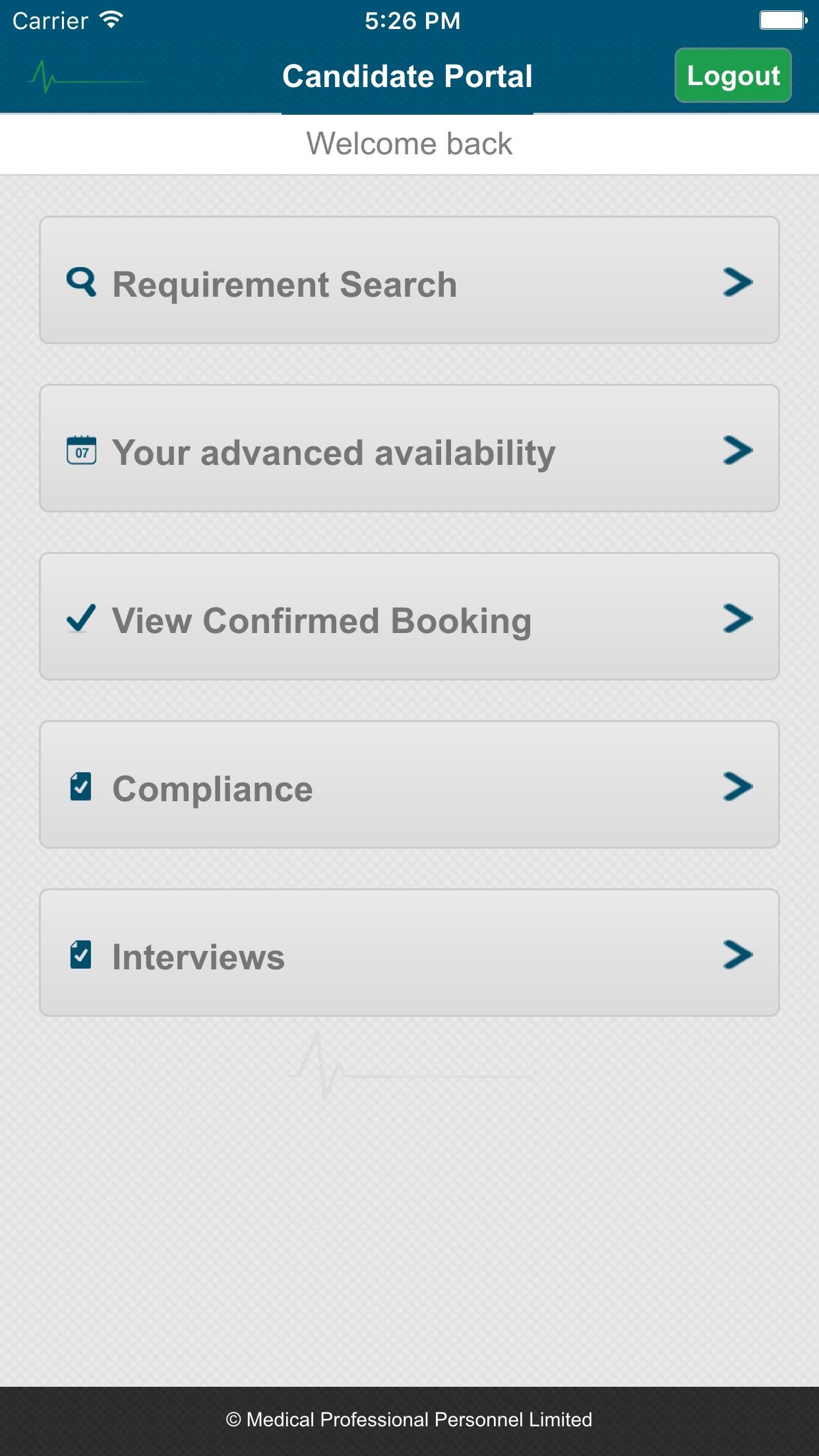 MPP App Screenshot