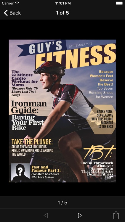 Guy's Fitness Magazine