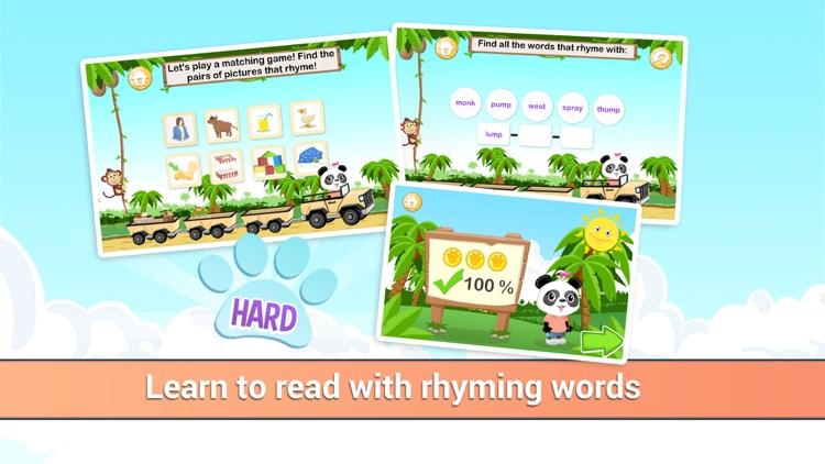 Learn to Read with Lola - Rhyming Word Jungle screenshot-3
