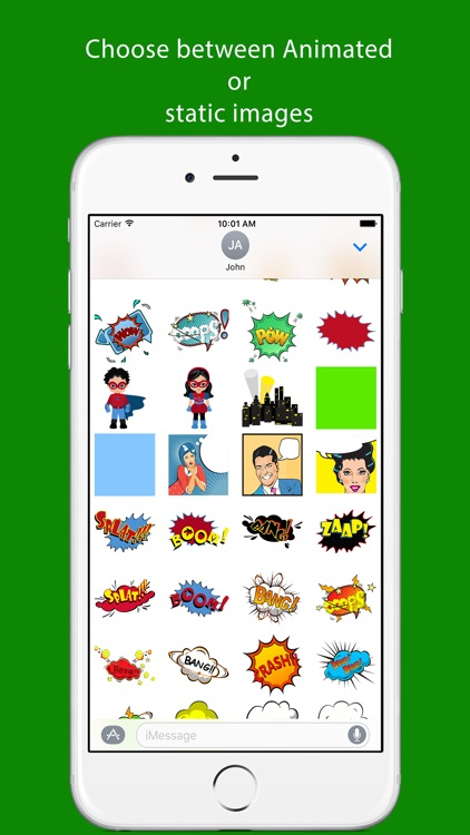 Comic Stickers - Sticker Pack For iMessage
