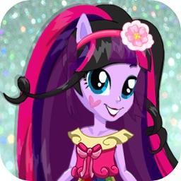 Twilight Pony Princess Equestria Dress Up Girls