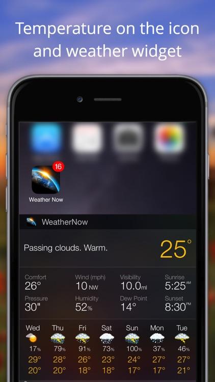Weather Now App° screenshot-4