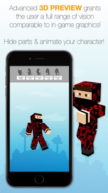 Best Skins Creator Pro - for Minecraft PE & PC screenshot-3