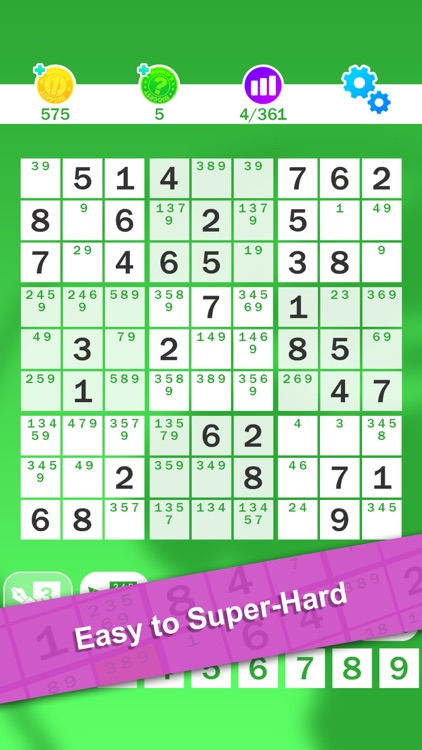 Sudoku : World's Biggest Number Logic Puzzle