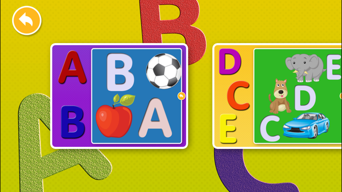 Alphabet Puzzles Games Kids & Toddlers free puzzle Screenshot