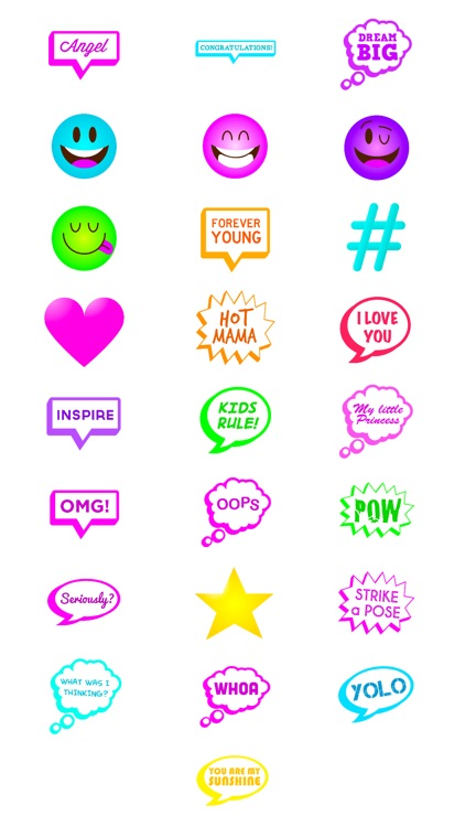 Stickers: Expressions