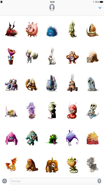 Dungeon Petz Stickers