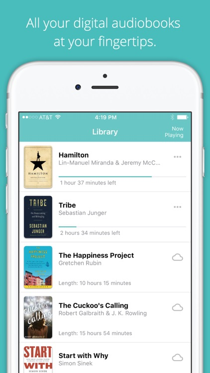Audiobooks from Libro.fm