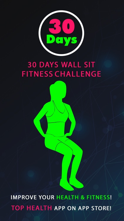 30 Day Wall Sit Fitness Challenges Pro