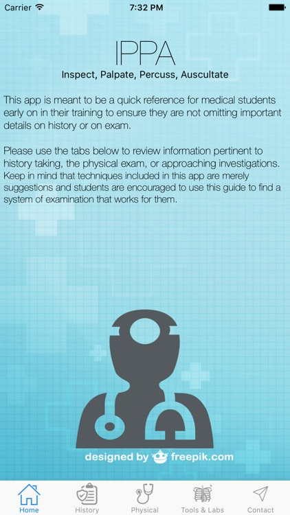 IPPA History and Physical Exam Reference