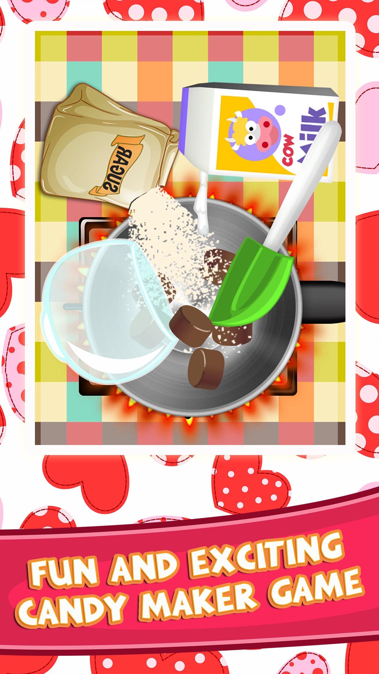 Candy Dessert Making Food Games for Kids Screenshot