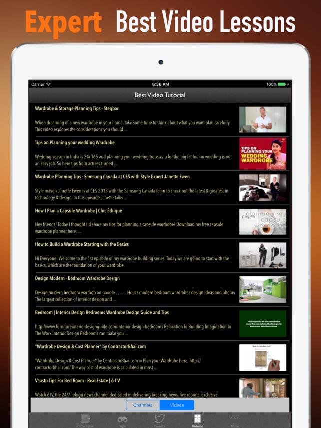 Kleiderschrank Planung und Design-The Curated Schr im App Store