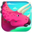 恐龙世界总动员 - 三角龙探索侏罗纪儿童游戏 icon