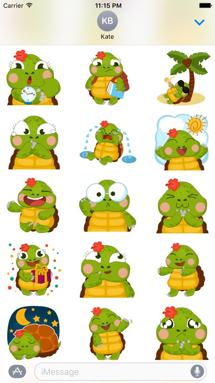 Honu Stickers