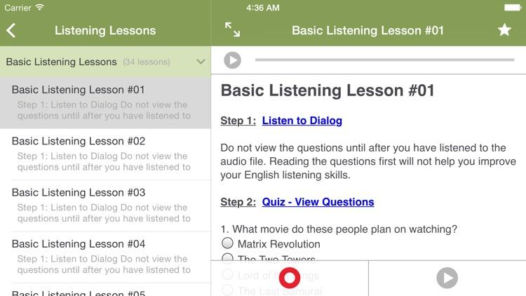 Learn to Speak English screenshot-4