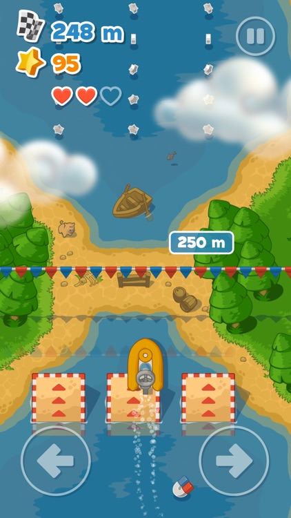 Little Boat River Rush screenshot-2