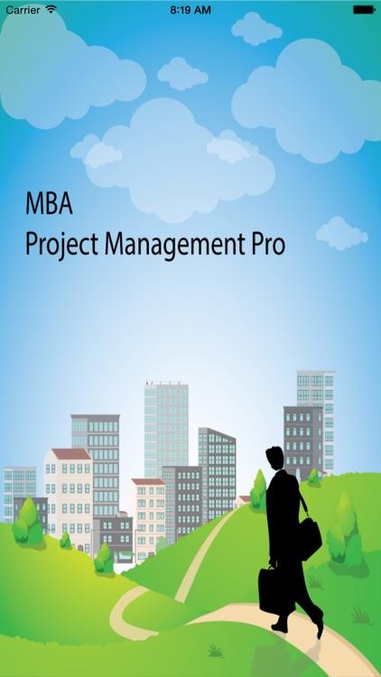 MBA Project Management Pro