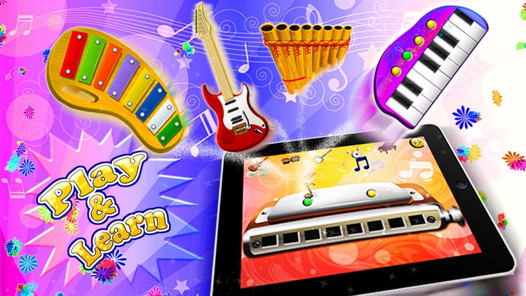 Music Sparkles – Musical Instruments Collection screenshot-3
