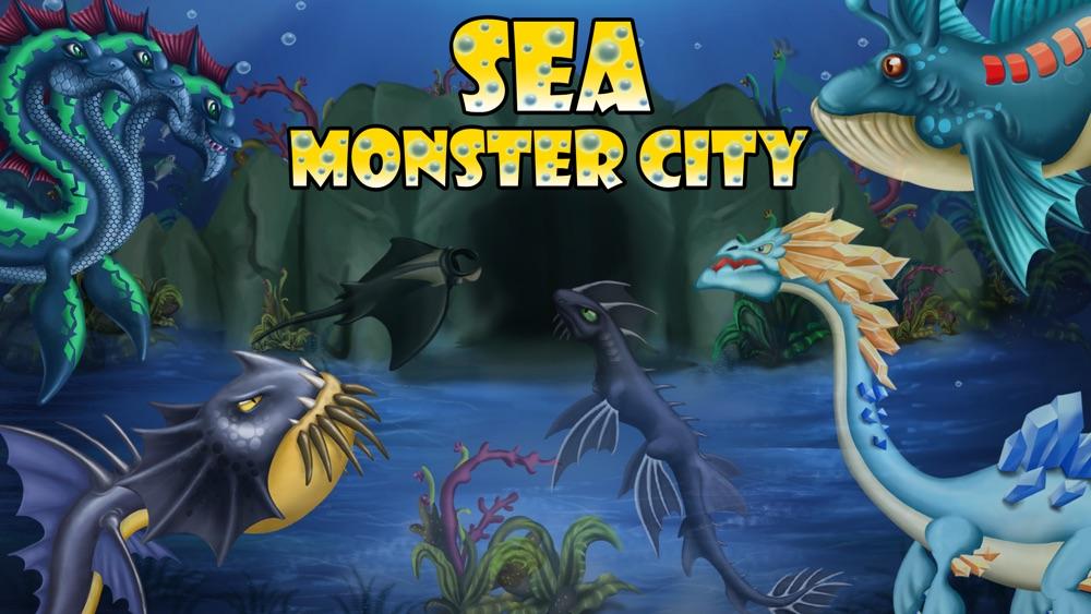 Sea Monster City – Monsters evolution & battle games