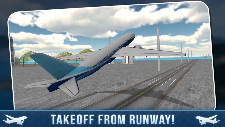 Real Airport City Air Plane Flight Simulator screenshot-2