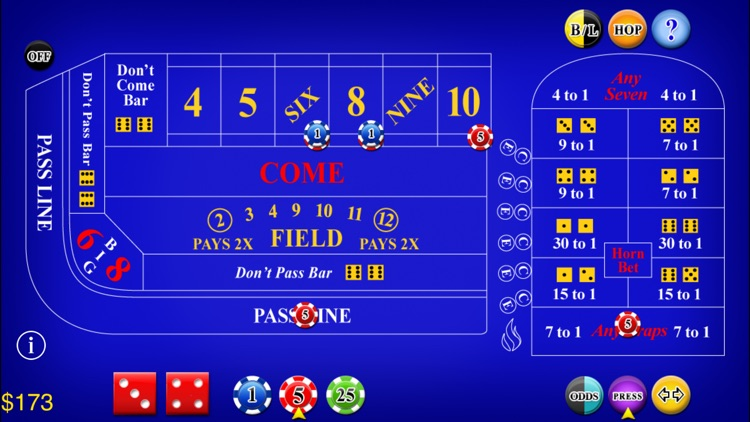 Craps Lite screenshot-2
