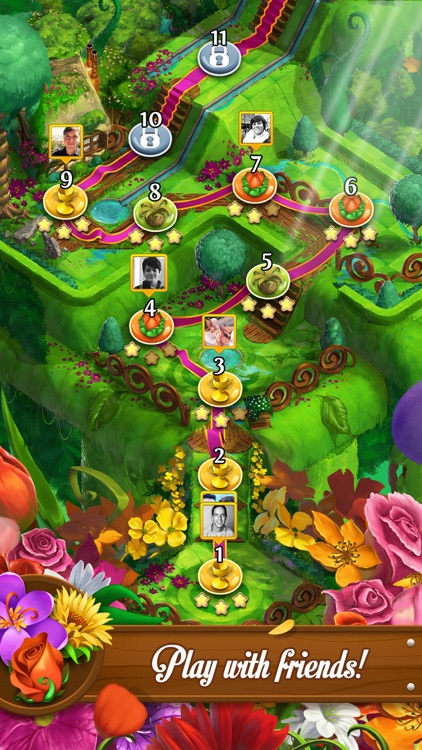 Blossom Blast Saga screenshot-3