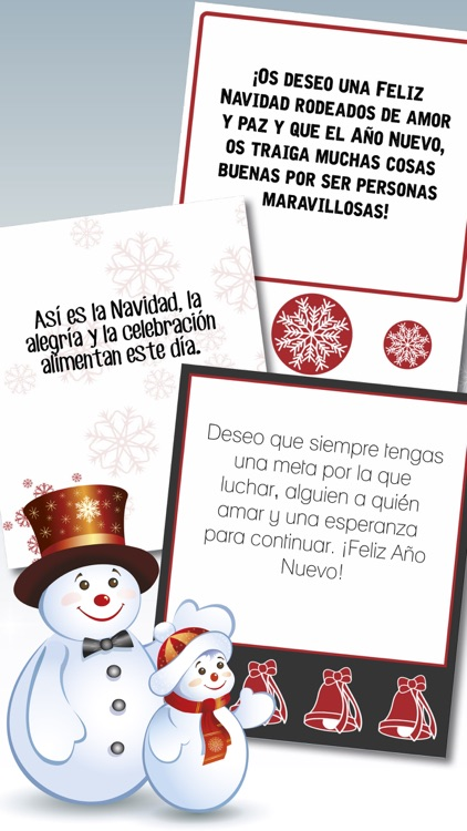 Xmas & New Year greeting messages in Spanish - Pro screenshot-3